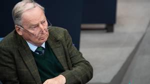Gegen Alexander Gauland soll wegen einer Steuersache ermittelt werden