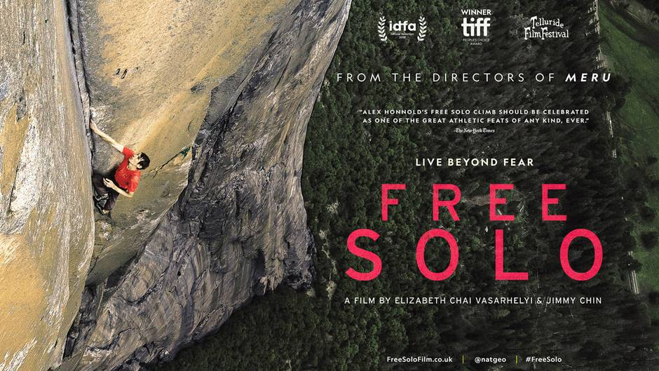 """""""Free Solo"""" Alex Honnold"""