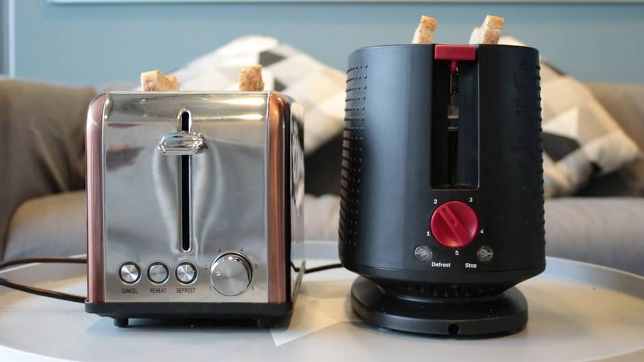Wissen Sie es?: Minuten, Bräunungsgrad oder Willkür? Was die Zahlen auf dem Toaster wirklich bedeuten