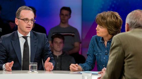 Heiko Maas kontert Breitseite von Ex-Tagesthemen-Mann Ulrich Wickert