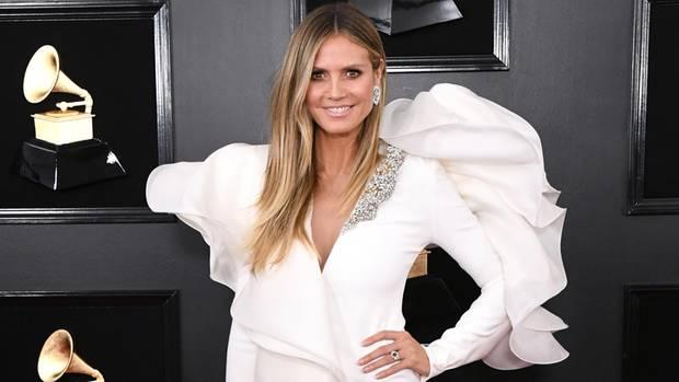 Heidi Klum bei den Grammys 2019
