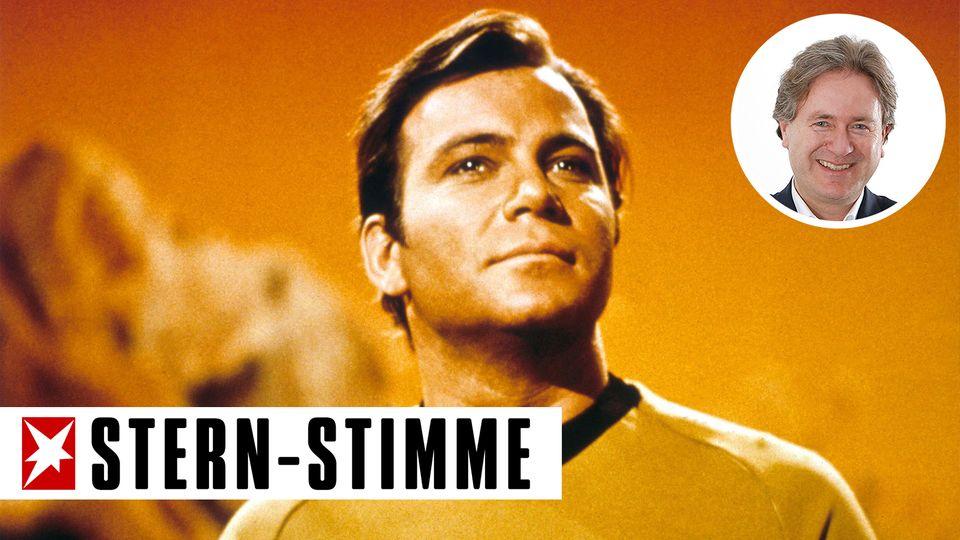William Shatner erlangte ab 1966 als Captain Kirk anhaltenden TV-Ruhm