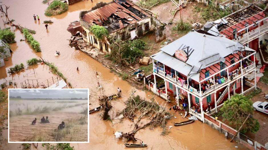 """Mosambik: Zyklon """"Idai"""" wütet – mehr als 200 Tote, Tausende warten auf Rettung"""