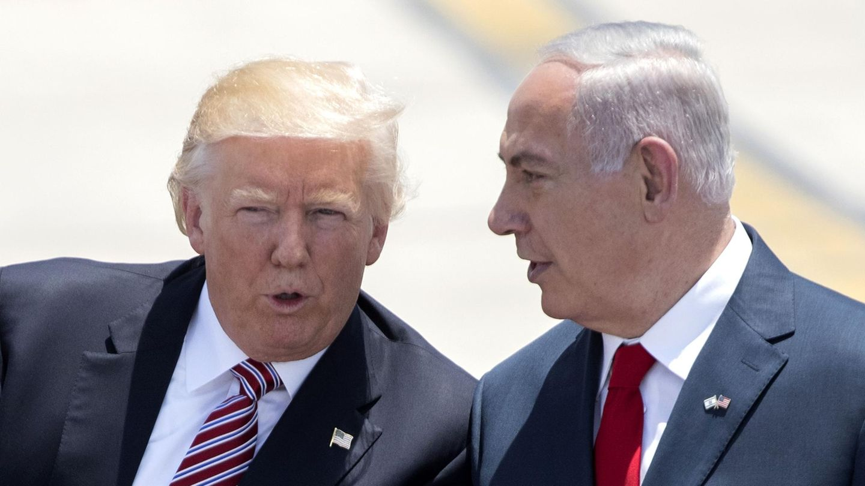 Donald Trump und Benjamin Netanjahu