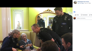 Polizei nimmt 104-Jährige fest