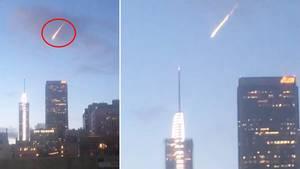 Los Angeles: Feuerball über Metropole – Meteor entpuppt sich als Werbeaktion