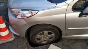 nachrichten deutschland - auto in gully