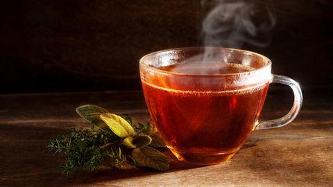 Tee sollte nicht zu heiß getrunken werden