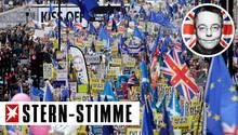 London - Anti-Brexit-Marsch