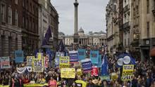 Riesen-Demo gegen Brexit: Tausende protestieren für Verbleib in der EU