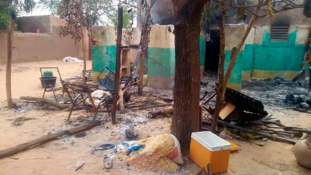 In einem Dort in Mali hat sich ein fürchterliches Massaker ereignet