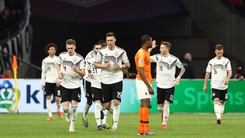 Läuft: Die DFB-Elf schlägt Holland durch ein Tor in der 90. Minute