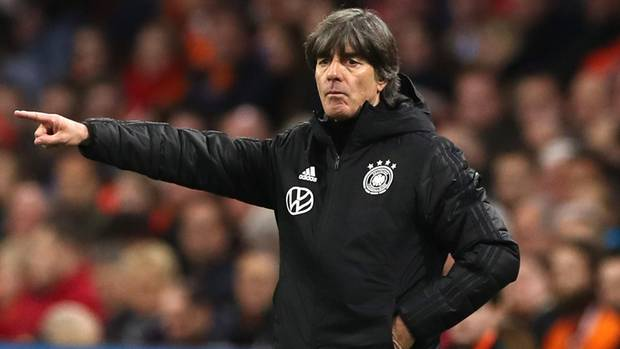 Joachim Löw ist nach dem Sieg der DFB-Elf gegen die Niederlande zufrieden mit der Mannschaft
