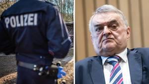NRW-Innenminister Herbert Reul und Polizei in Lügde