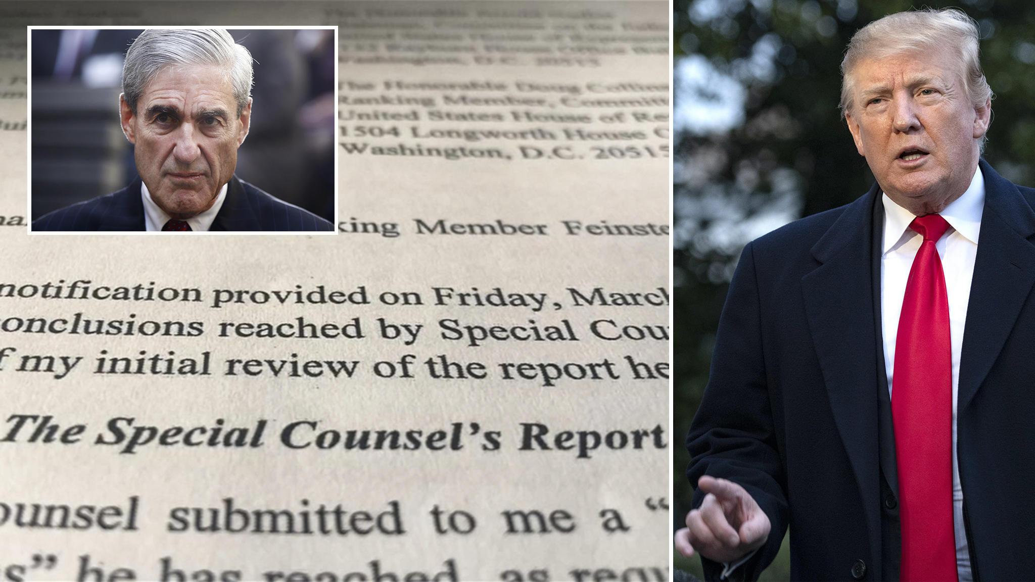 Mueller-Bericht: Zittern für Trump: Mueller-Bericht soll im April nahezu vollständig veröffentlicht werden