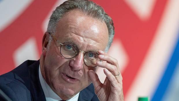 Super League - Karl-Heinz Rummenigge vom FC Bayern treibende Kraft