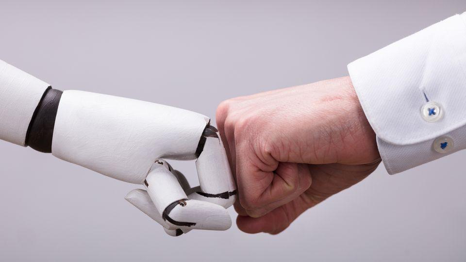 Maschinen werden manche Jobs übernehmen, andere werden neu entstehen