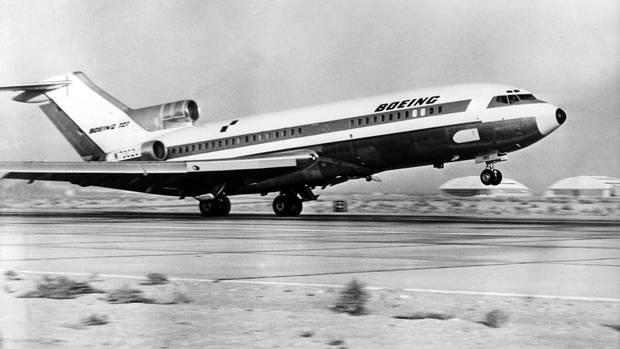 1963 absolvierte dieBoeing 727 ihren Erstflug: 1832 Exemplare wurden bis 1984 produziert.