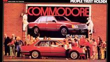 Holden Commodore - ein Foto aus besseren Zeiten