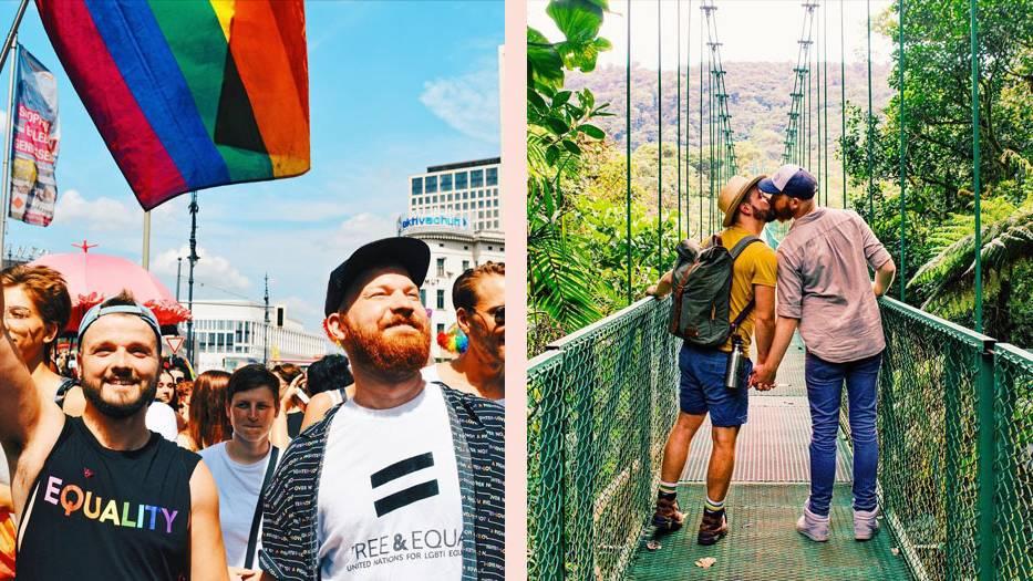 Couple of Men: Karl und Daan geben schwulenfreundliche Reisetipps