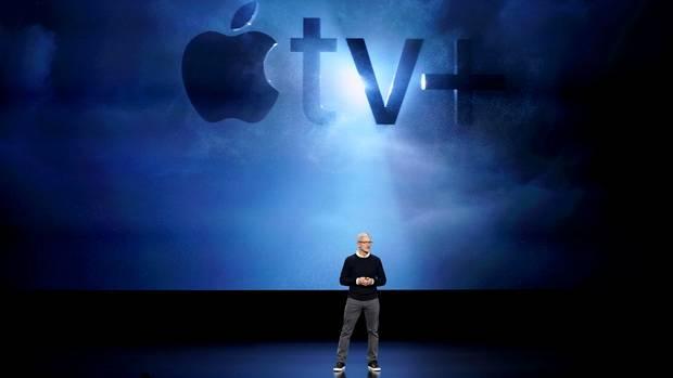 Apple: Tim Cook präsentiert neuen Streamingdienst