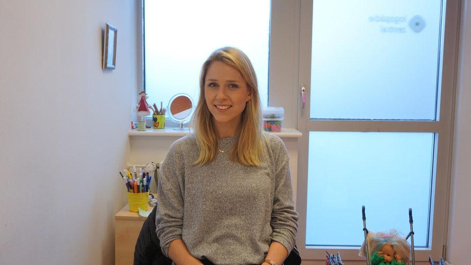 """Lisa Borrmann: """"Wenn etwas funktioniert hat, gehe ich zufrieden nach Hause"""""""