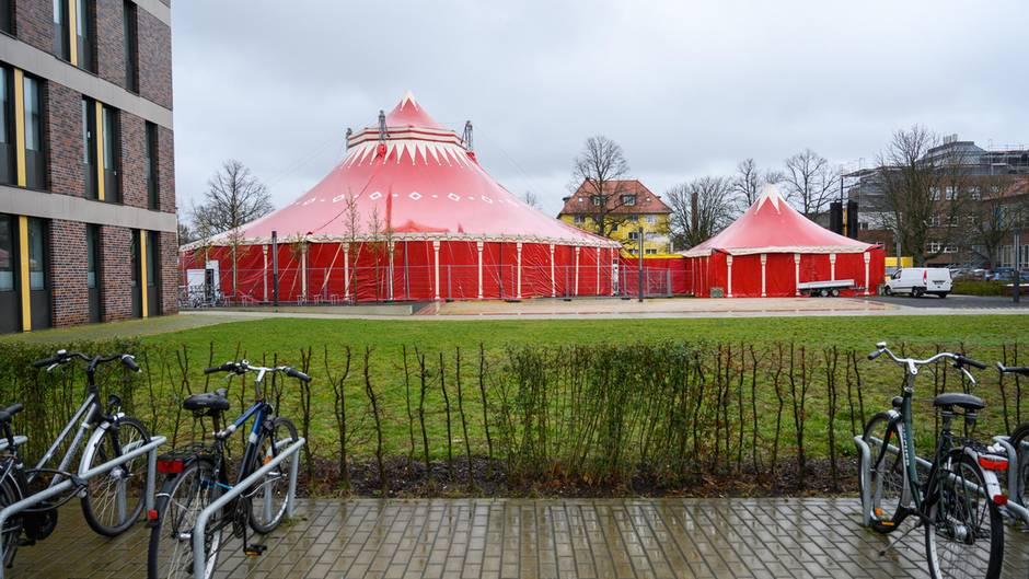 Zirkuszelt Braunschweig Universität