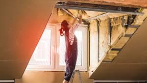 Die fachgerechte Dämmung des Daches bietet hohes Einsparpotenzial