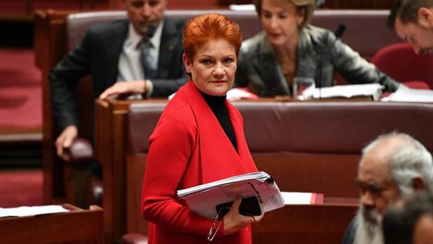 One-Nation-Führerin Pauline Hanson