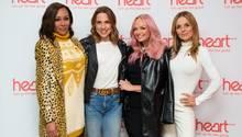 Spice Girls Mel B, Mel C, Emma Bunton und Geri Halliwell