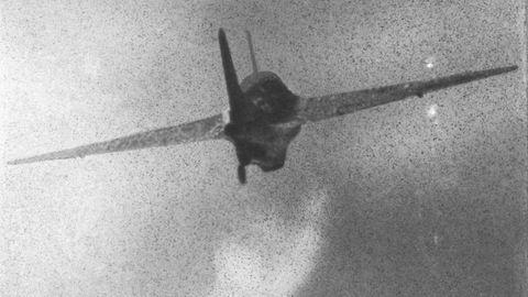 Die Komet war nicht für den Dog-Fight unter Jägern geeignet. Im Sinkflug ohne Antrieb war sie ein leichtes Ziel für die alliierten Begleitjäger.