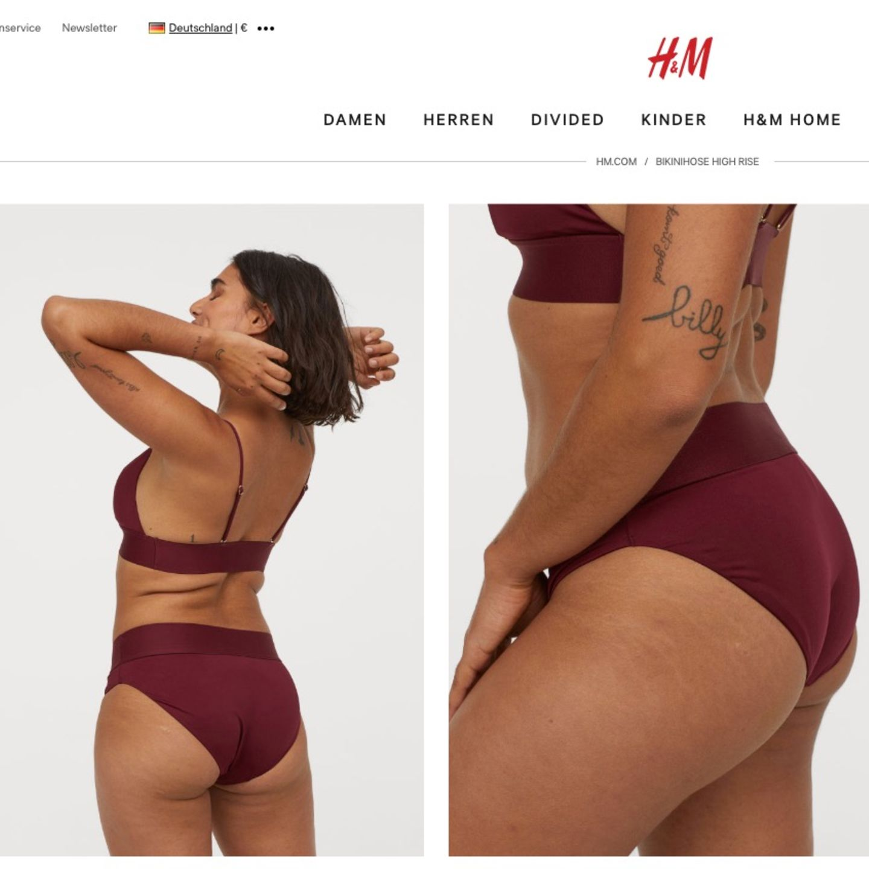 Frauen bikini normale im Unterwäsche Vs.