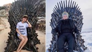 Bis zum Start der letzten Staffel von Game of Thrones können sich Fans die Wartezeit mit der Suche nach sechs weltweit versteckten Thronen verkürzen.
