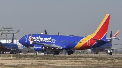 Eine Boeing 737 Max derAirline Southwest (Symbolbild)