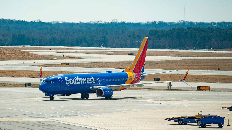 Eine Boeing 737 Max der Southwest Airlines
