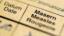 Impfpass mit Masern (Symbolbild)