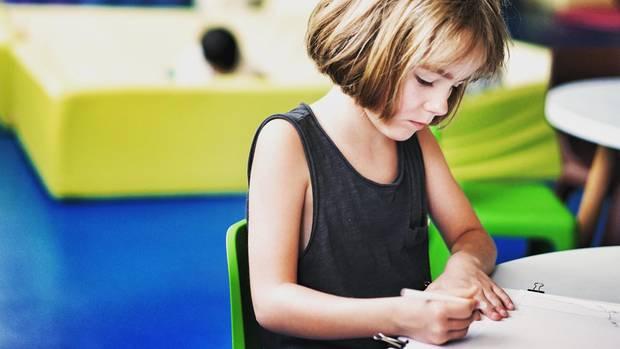 In vielen Bundesländern lernen Schulkinder das Schreiben nach Gehör