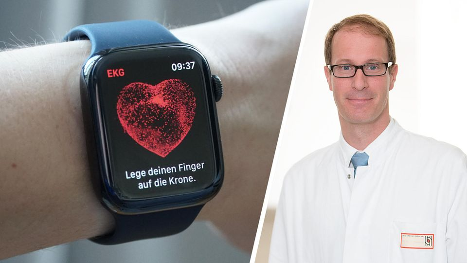 Die Apple Watch kann nun Vorhofflimmern erkennen. Chefarzt Thomas Deneke erklärt, wie gut das funktioniert