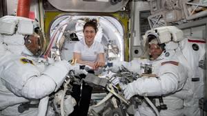 ISS Raumanzug Christina Koch