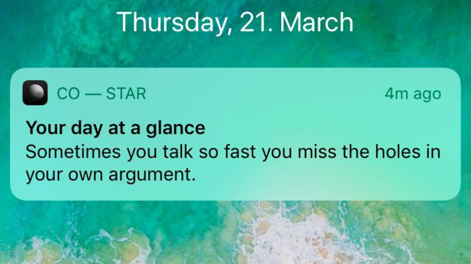 """""""Co-Star"""": """"Die ganze Welt ist ein ungezähmtes Pferd"""": Über diese Horoskop-App lacht das Internet"""