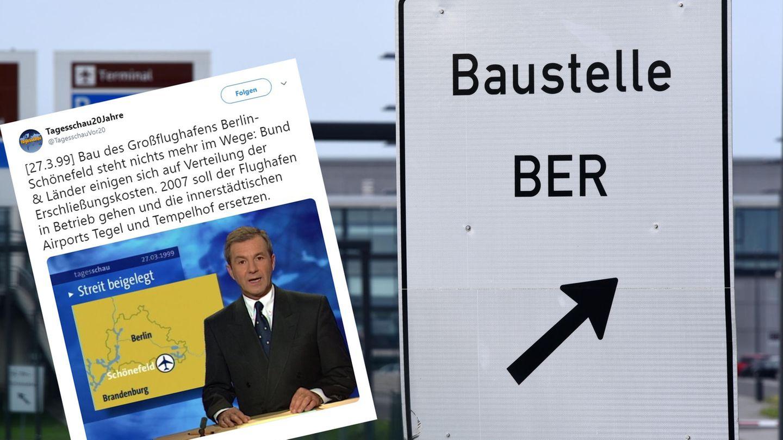 Bau von BER-Flughafen: Erinnern Sie sich an diese Nachricht? Sie ist 20 Jahre alt – aber erschreckend aktuell