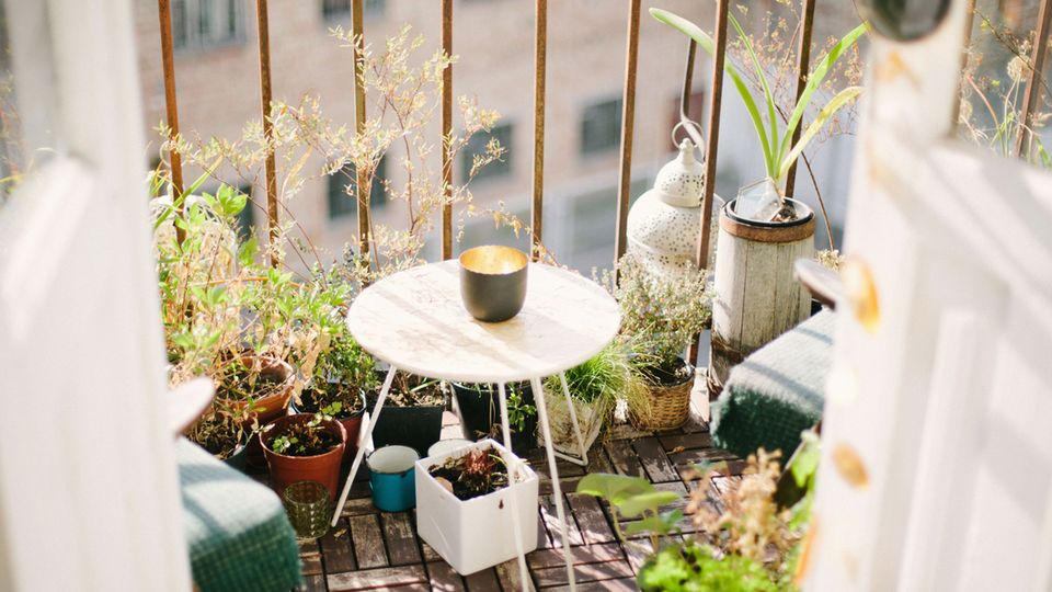 Der Frühling lässt sich wunderbar auf Balkonien genießen