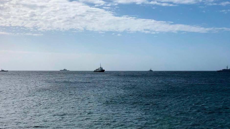 Schiffe auf dem Mittelmeer (Symbolbild)