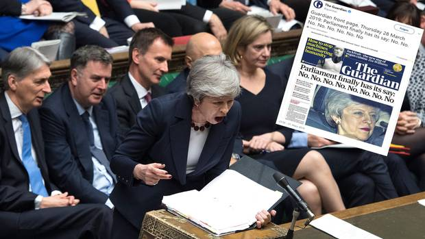 Brexit-Chaos in Großbritannien: Theresa May spricht im britischen Parlament