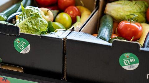"""Obs- und Gemüsekiste """"Too Good to Waste"""" bei Lidl"""