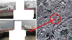 Europol-Aufnahme, Luftbild von Shenzhen