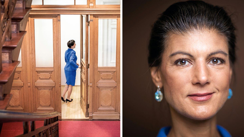 Sahra Wagenknecht erklärt ihren Rückzug von der Fraktionsspitze