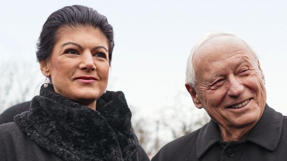 Ein bisschen mehr vom Schönen: Wagenknecht lebt in zweiter Ehe mit Ex-SPD-Chef Oskar Lafontaine in einem Dorf im Saarland