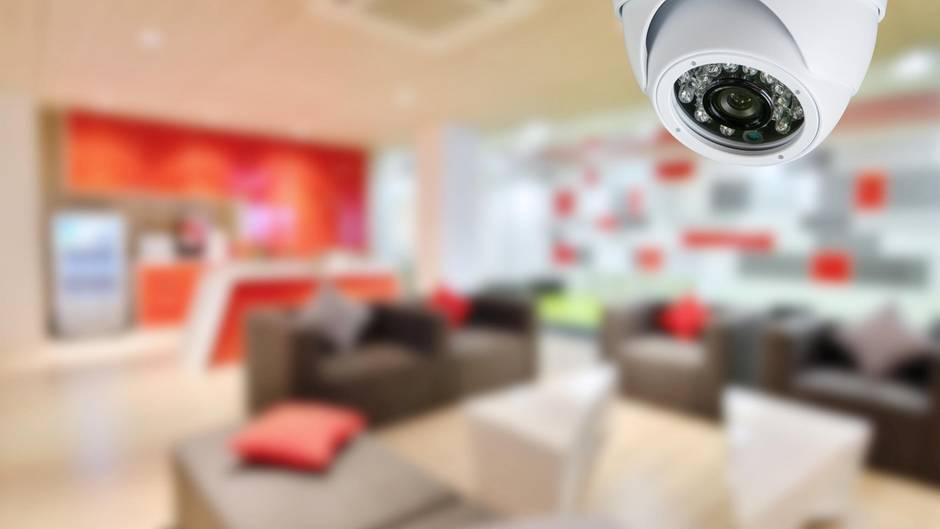 Moderne Kameras machen eine rundum Überwachung möglich.