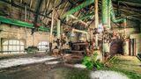 Deutschland  Dieser Ofen ist schon lange nicht mehr in Betrieb, dafür wird hier nun in anderer Form gearbeitet: Die Natur kämpft sich zurück. Ein typisches Zeichen für die vielen leer stehenden Gebäude, die Michael Schwan besucht hat.  Mehr über den Fotografen erfahren Sie auf seiner Homepagemichaelschwan.de, sowieauf Instagramund Facebook.